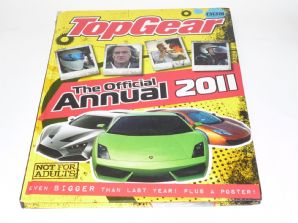 TOP GEAR THE OFFICIAL ANNUAL 2011. (Clarkson, Hamster, May)